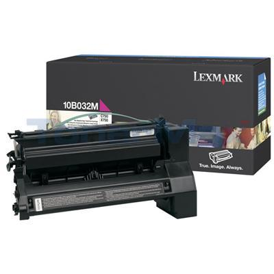 LEXMARK C750 PRINT CART MAGENTA 15K